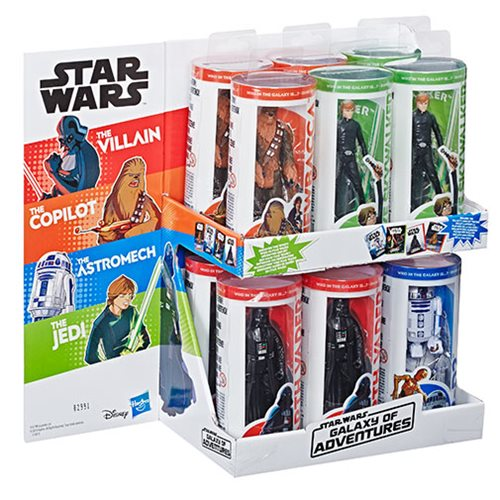 Star Wars Galaxy of Adventure Action Figures Wave 1 Case – Free Shipping