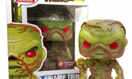 Swamp Thing Glow in the Dark Previews Exclusive Pop! Vinyl Figure