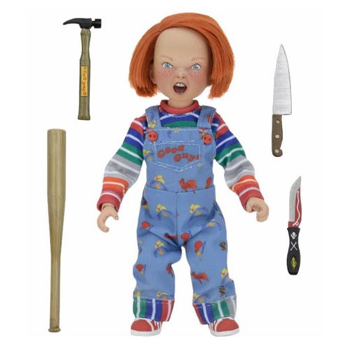 Child's Play Chucky 8-Inch Cloth Retro Action Figure