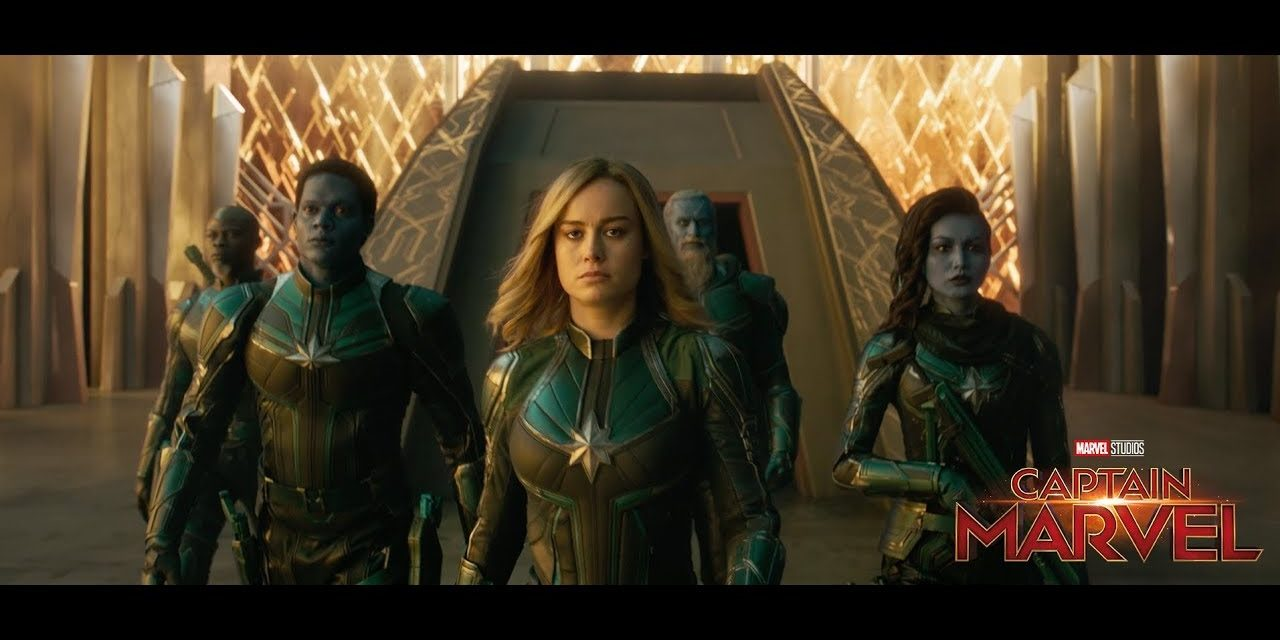 Captain Marvel Spot Featuring