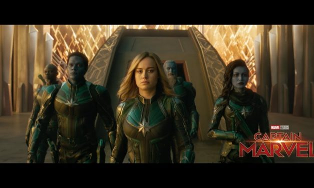 Captain Marvel Spot Featuring