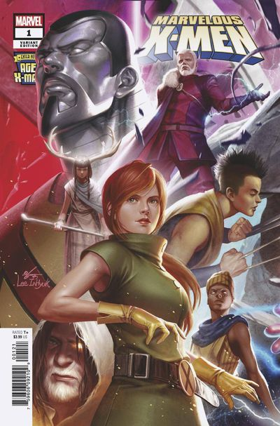 Age of X-man Marvelous X-Men #1 (of 5) Inhyuk Lee Connecting