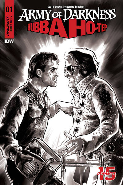 Army of Darkness Bubba Hotep #1 (Retailer 30 Copy Incentive Variant)