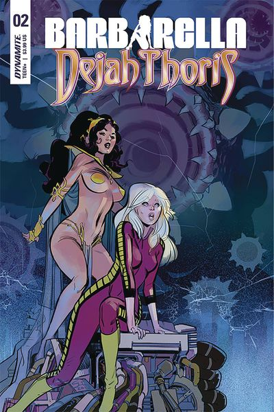 Barbarella Dejah Thoris #2 (Cover D – Garcia)