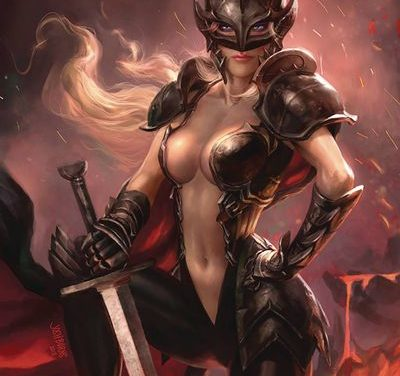 Black Knight #4 (of 5) (Cover C – Burns)