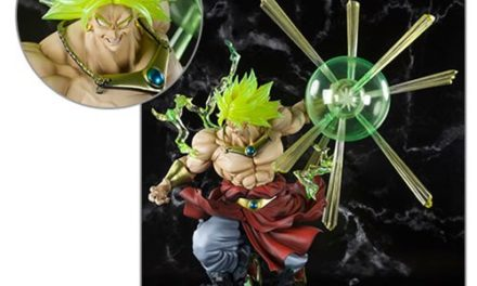Dragon Ball Z Super Saiyan Broly The Burning Battles FiguartsZERO Statue – Free Shipping