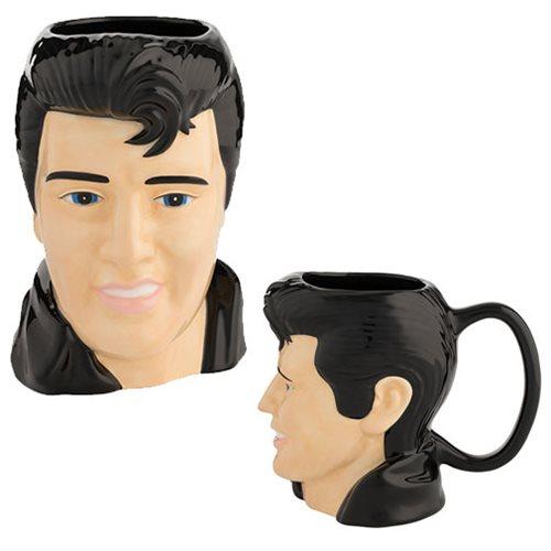 Elvis Presley 18 oz. Sculpted Ceramic Mug