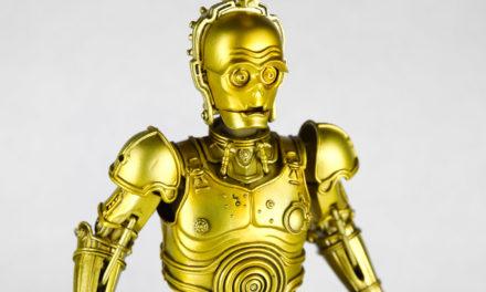 Star Wars C-3PO Honyaku Karakuri Meisho Movie Realization Action Figure – Free Shipping