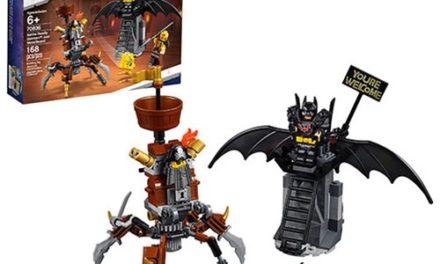 LEGO 70836 The LEGO Movie 2: The Second Part Battle-Ready Batman and MetalBeard