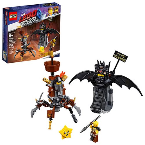 LEGO 70836 The LEGO Movie 2: The Second Part Battle-Ready Batman and MetalBeard
