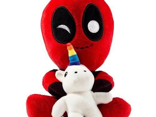 Deadpool with Unicorn Phunny Plush