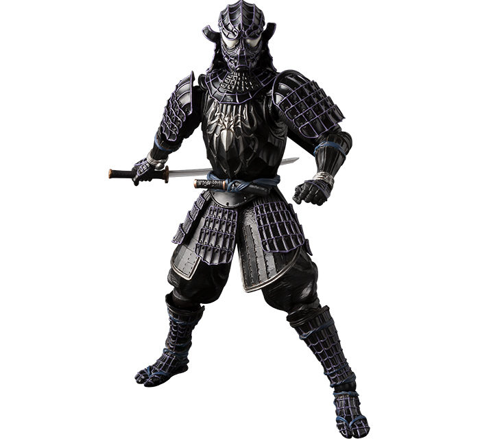 Tamashii Nations Meisho Manga Realization Onmitsu Black Spider-Man – Marvel Action Figure