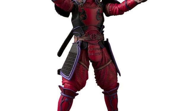 Tamashii Nations Meisho Manga Realization Kabukimono Deadpool – Marvel Action Figure