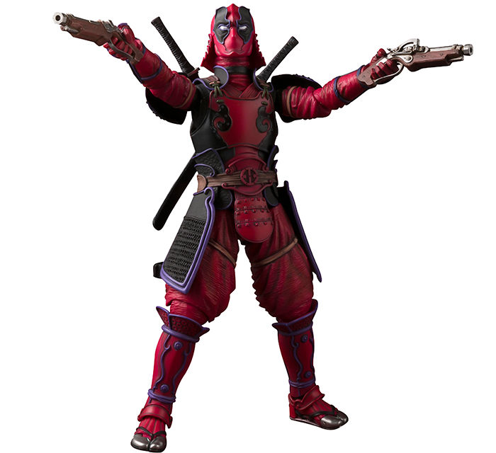Tamashii Nations Meisho Manga Realization Kabukimono Deadpool – Marvel Action Figure