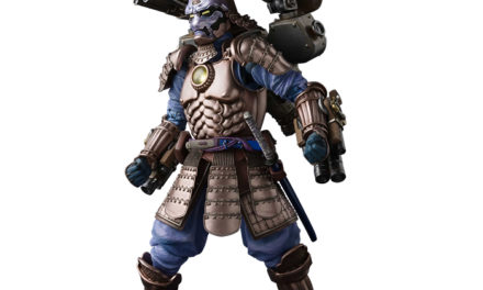 Tamashii Nations Meisho Manga Realization Koutetsu Samurai War Machine – Marvel Action Figure