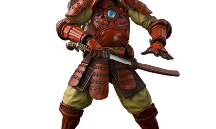 Tamashii Nations Manga Realization Samurai Iron Man – Marvel Action Figure