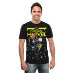 Captain Marvel Comic T-Shirt
