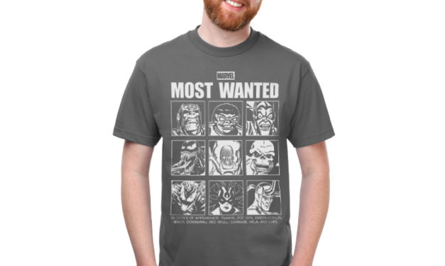 Marvel Wanted T-Shirt