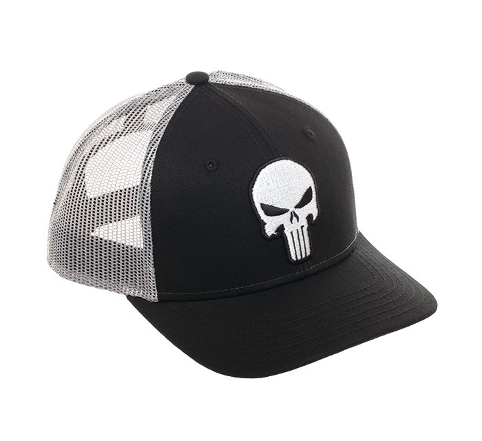 Punisher Mesh Trucker Hat