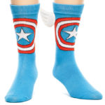 Captain America Wings Crew Socks