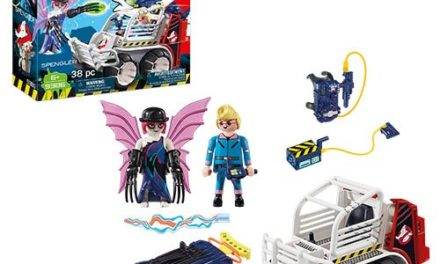 Playmobil 9386 The Real Ghostbusters Spengler with Cage Car