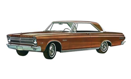 Plymouth 1965 Satellite 1:25 Scale Model Kit