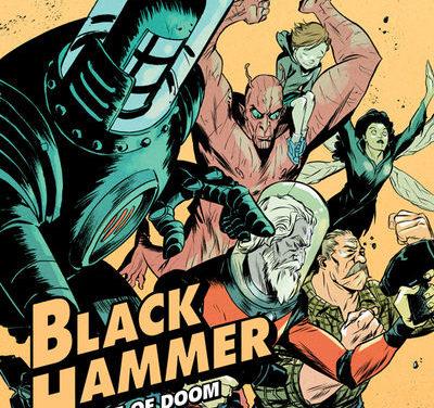 Black Hammer: Age of Doom #9 (Sanford Greene Variant Cover)