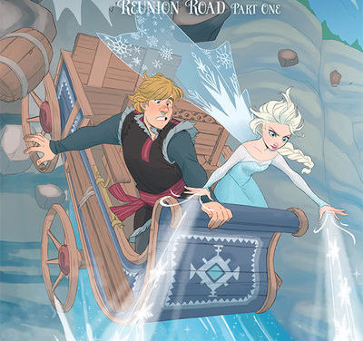 Disney Frozen: Reunion Road #1 (Carlotta Dicataldo Variant Cover)