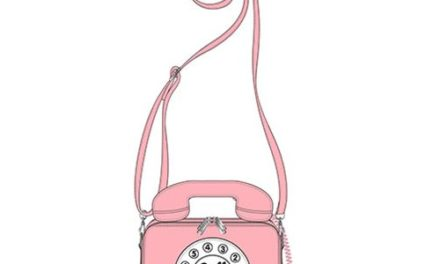 Hello Kitty Telephone Call Me Crossbody Purse