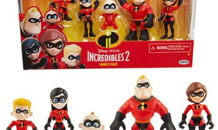 Incredibles 2 3-Inch Precool Figures Family Pack