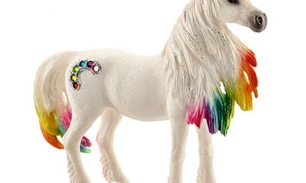 Bayala Rainbow Unicorn Mare Collectible Figure