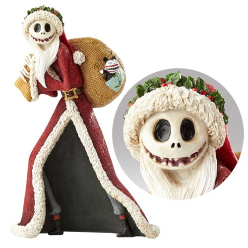 Disney Showcase Nightmare Before Christmas Santa Jack Skellington Statue