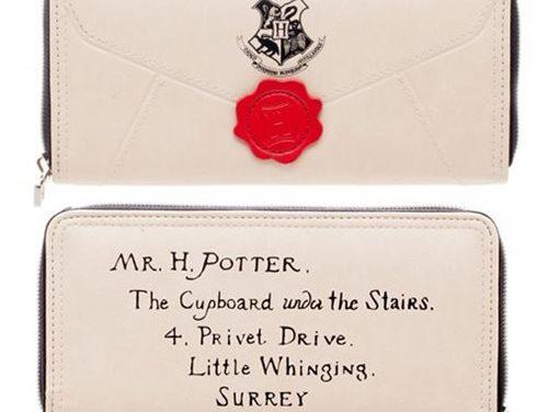Harry Potter Letter Zip Around Wallet