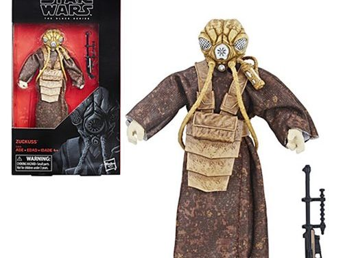 Star Wars The Black Series Zuckuss 6-inch Action Figure – Exclusive
