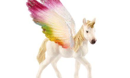 Bayala Winged Rainbow Unicorn Foal Collectible Figure