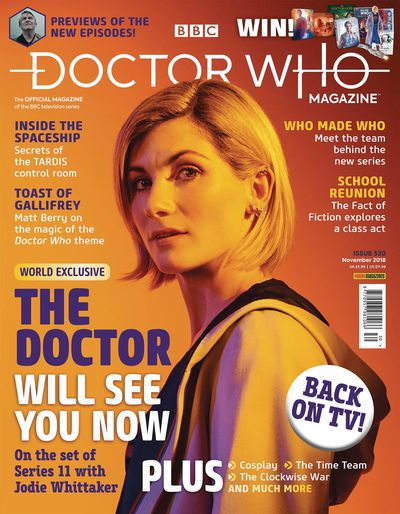 Doctor Who Magazine #535