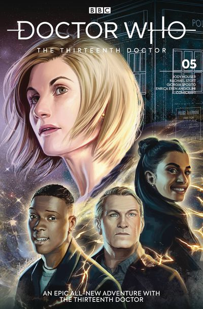 Doctor Who 13th #5 (Cover C – Ianniciello)