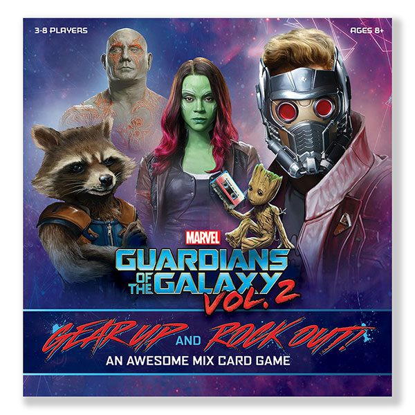 Guardians of the Galaxy 2 Awesome Mix Card Game