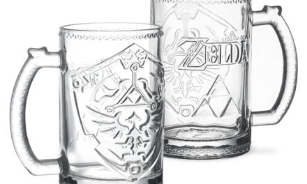 Legend of Zelda Hylian Shield Glass