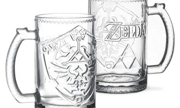 Legend of Zelda Hylian Shield Glass