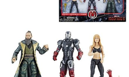 Marvel Legends Cinematic Universe 10th Anniversary Iron Man 3 Pepper Potts, Iron Man, and Mandarin 6-Inch Action Figures