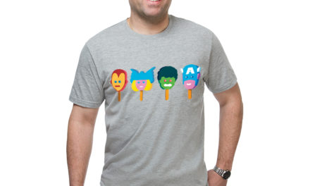 Marvel Line Up T-Shirt