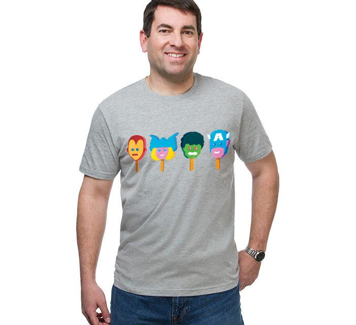 Marvel Line Up T-Shirt