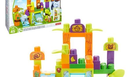Mega Bloks Storytelling Safari Friends Zoo Playset