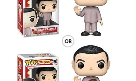 Mr. Bean Pajamas Pop! Vinyl Figure