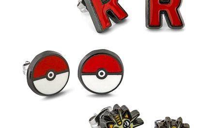 Pokémon Team Rocket 3-Pack Earrings Set