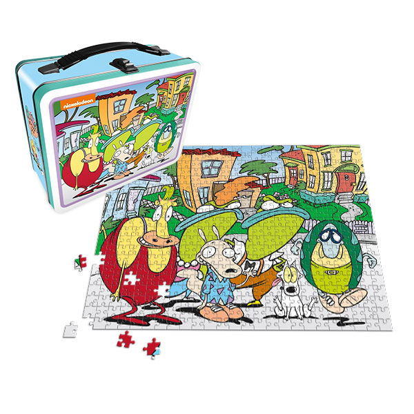 Rocko's Modern Life Lunch Box with 500pc Puzzle – Exclusive