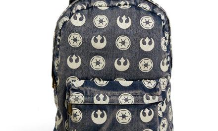 Star Wars Rebel Imperial Logo Backpack