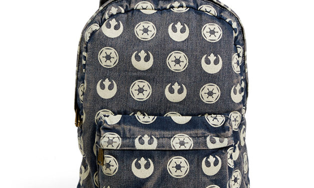 Star Wars Rebel Imperial Logo Backpack