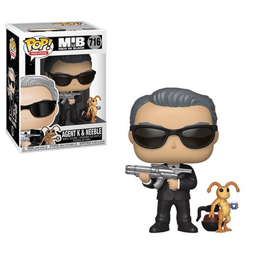 Men In Black Agent K and Neeble Pop! Vinyl Figure